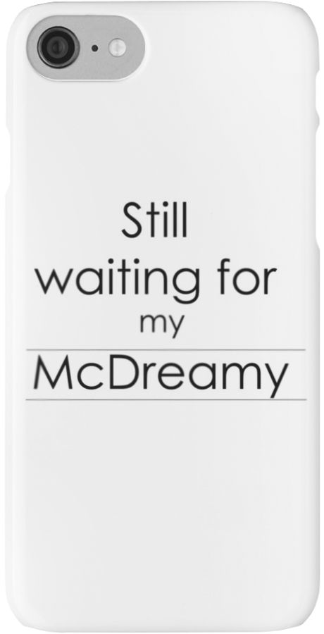 Greys anatomy fans here is a great McDreamy design. • Also buy this artwork on phone cases, apparel, stickers, and more.