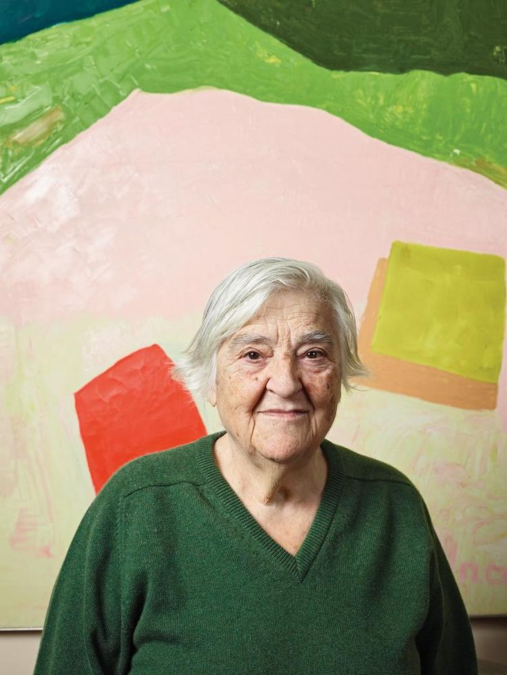 Etel Adnan The Beirut-born poet, essayist and artist—who found fame late in life with her small-scale paintings and forceful prose—has two simultaneous shows this spring at Galerie Lelong in Paris and New York City