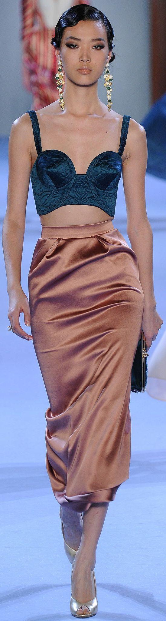 Ulyana Sergeenko - Spring 2014 Couture