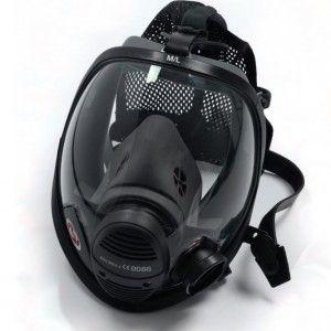 Masque à pression positive VISION 3 pour utilisation avec les appareils de protection respiratoire Isolant de Scott