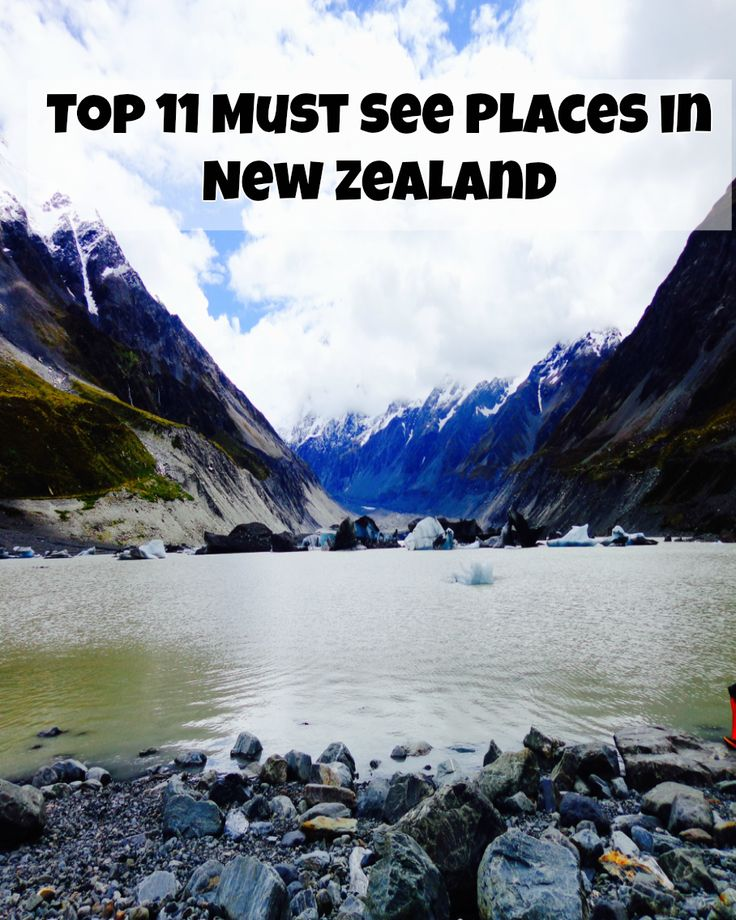Top 11 Must See Places in New Zealand!