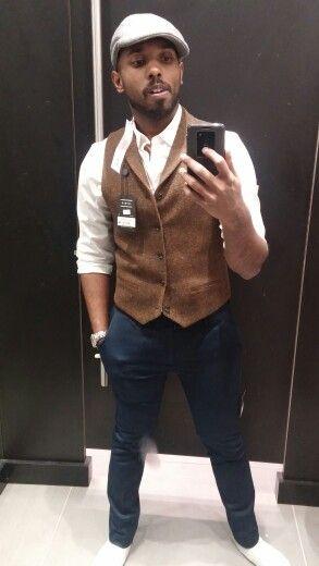 Couldn't resist not buying it! #tweed #vest