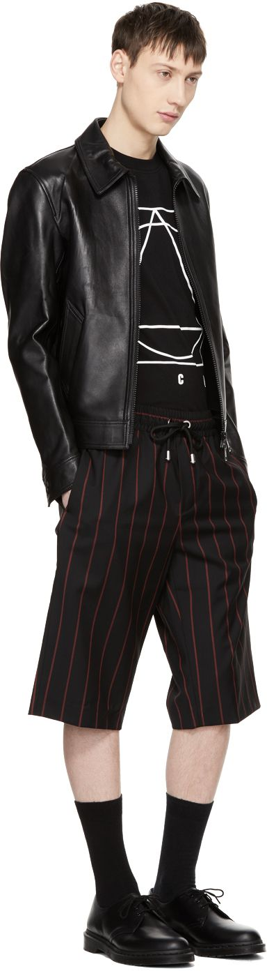 McQ Alexander McQueen - Black Glyph Icon T-Shirt