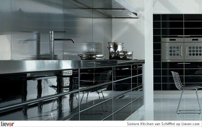 Schiffini Soviore Kitchen - Schiffini kranen & keukenblokken - foto's & verkoopadressen op Liever interieur