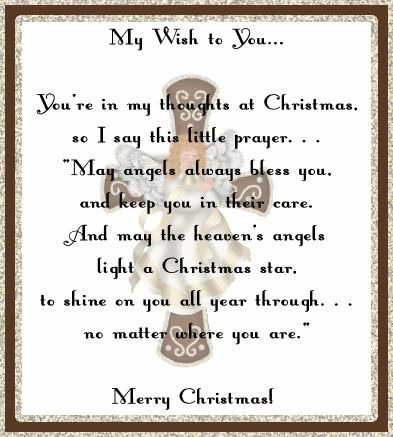 Merry+Christmas+My+Friend+Poem | Christmas Wishes for my Family and Friends ~ Blog by Fyretygress Fubar ...
