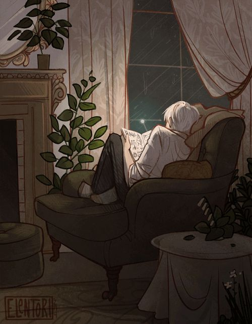 "pottergerms: "" elentori-art: ""  ♬ ♫ Somewhere Safe "" I want to marry this fanart right now """