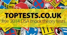 Get ready for your 2014 driving theory test from the comfort of your home - no registration required! Click here to take your DSA/DVLA Mock Theory Test now!