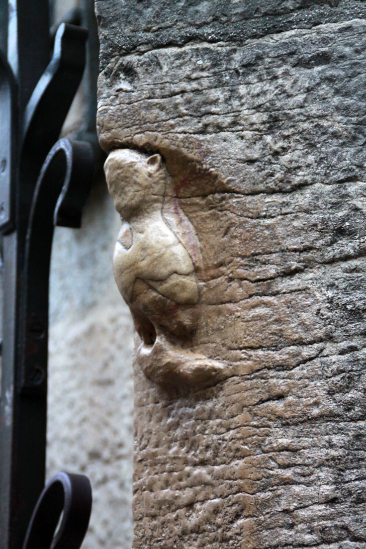 "Dijon, ""the"" lucky owl of Dijon, rue de la Chouette, Bourgogne, France by @Hélène Herniou"