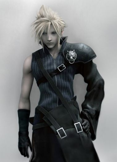 Cloud Strife by DishyDesigns
