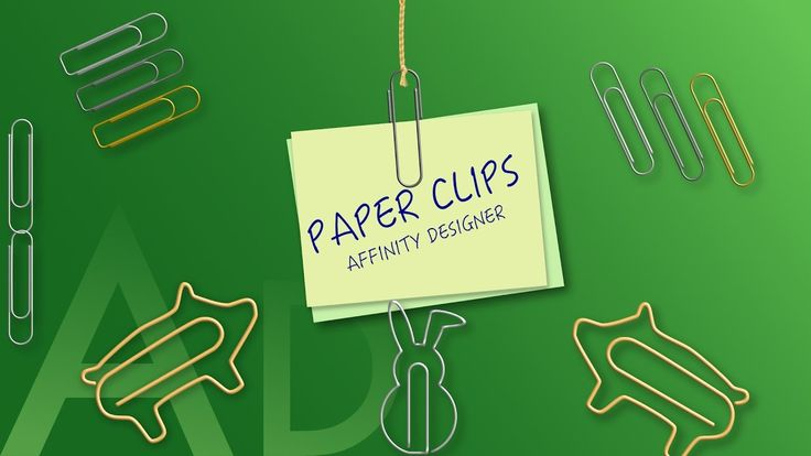 11 Affinity Designer – Paper clips and brushes