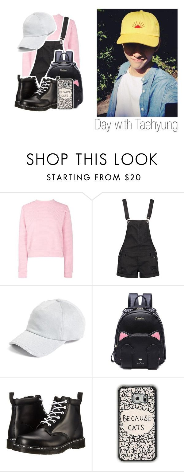 """""""Day with Taehyung ❣"""" by littlebluelight ❤ liked on Polyvore featuring Boohoo, rag & bone, Dr. Martens, kpop, bts and taehyung"""