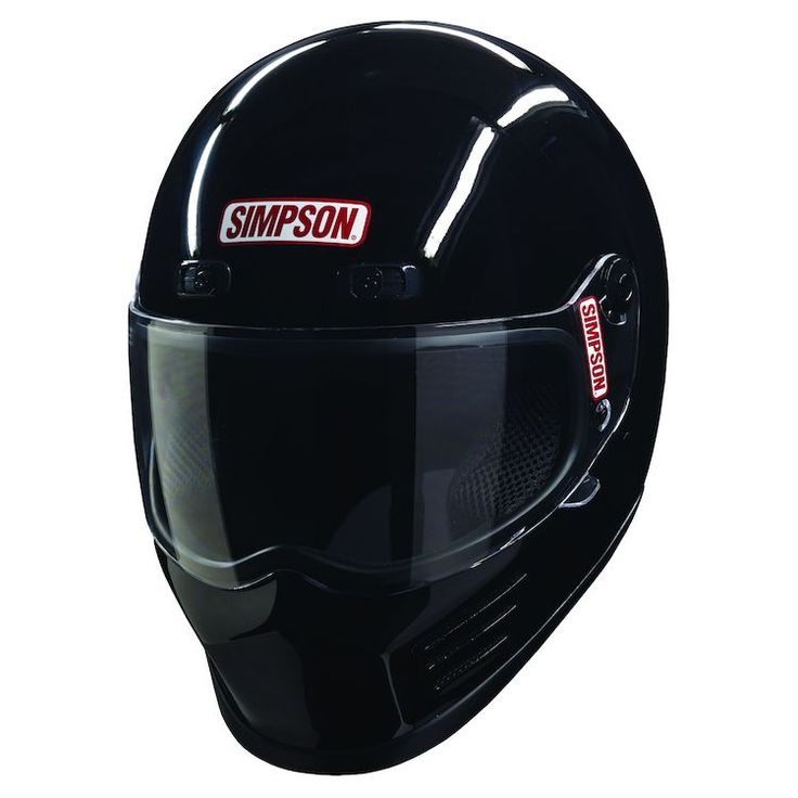 The Street Bandit helmet caught your eye when you first saw it for a reason. Simpson helmets have earned a legendary reputation for protecting the heads motor-sport enthusiasts the world over. Meeting DOT and Snell M2015 safety standards, the Street Bandit is tailored specifically to the needs of motorcycle riders, offering adjustable air vents, a lighter shell and wider eye port.