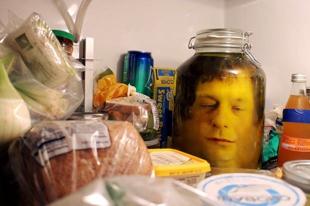How To Put A Severed Head In A Jar  :-)      ...............Follow DIY Fun Ideas at www.facebook.com/... for tons more great projects!