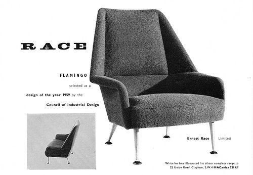 Ernest Race Furniture Advert