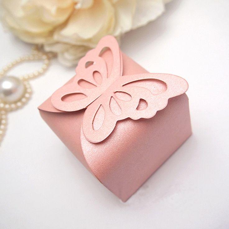 souvenir 15 años, caja con mariposa