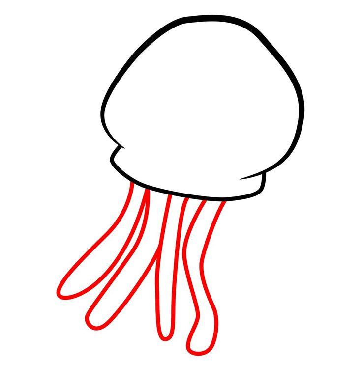 how to draw a spongebob jellyfish spongebob