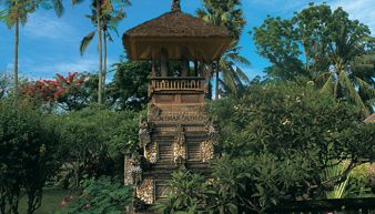 Experience Traditional Balinese Blessing Ceremony During Full Moon by a Pemangku, The Hindu Priest While at The Oberoi, Bali