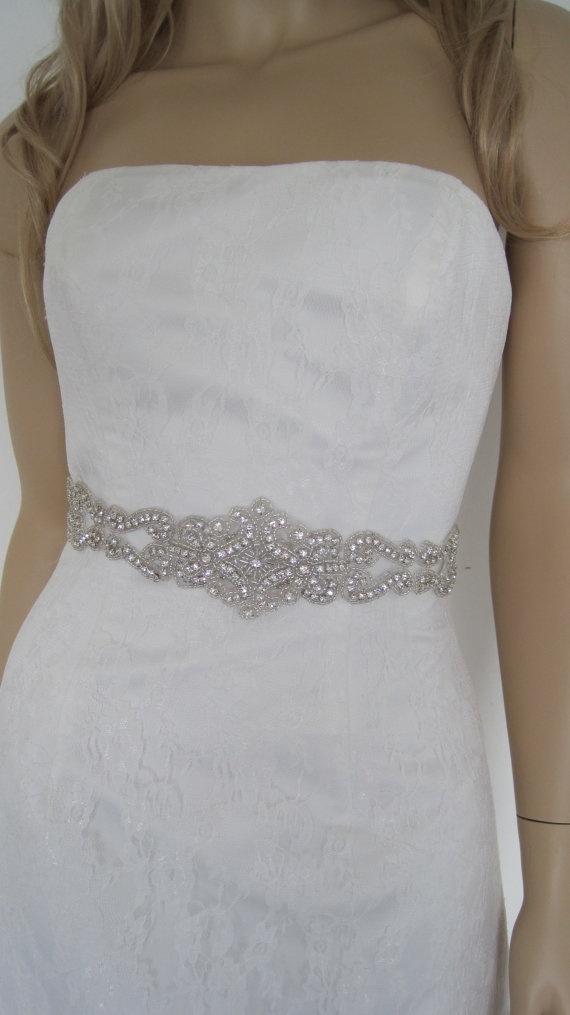 jewelled wedding sash wedding belt and sash bridal
