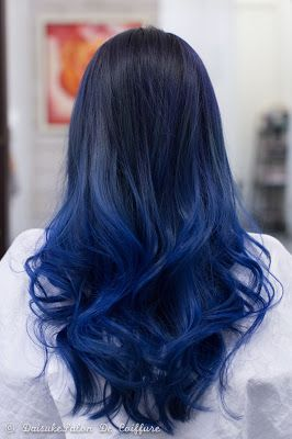DAISUKE SALON DE COIFFURE Balayage Hair Manicure Blue