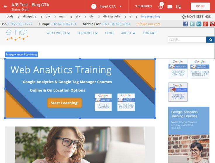 Google Optimize 360 tool, A/B testing voor het MKB