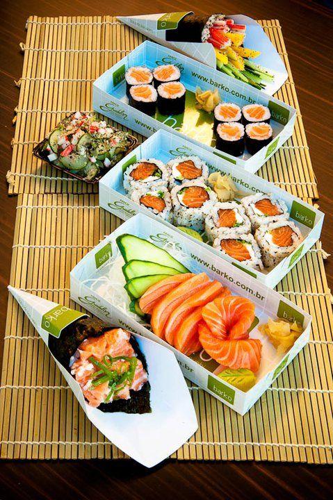 Japonês! <3 (Barko Temaki & Sushi, Porto Alegre, RS, Brasil)