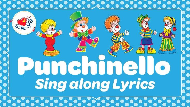 A fun circle time song for kids! What actions can you make up? Create your own moves or follow others with this fun kids song Punchinello Funny Fellow clown song!