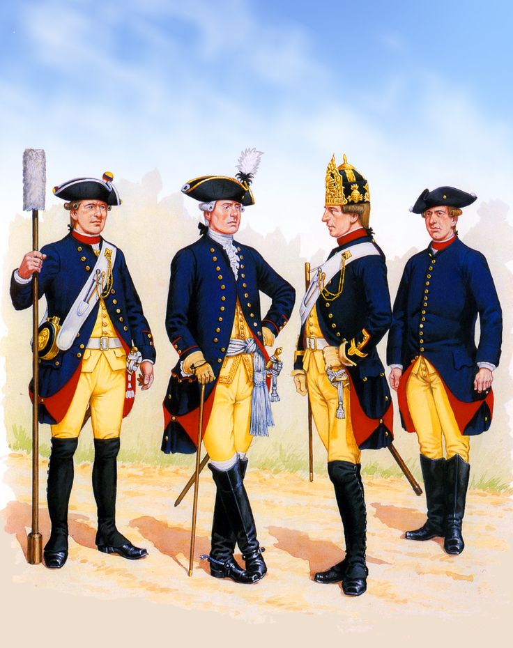 Frederick the Great's Artillery Canoneers and Bombardiers, Seven Years War