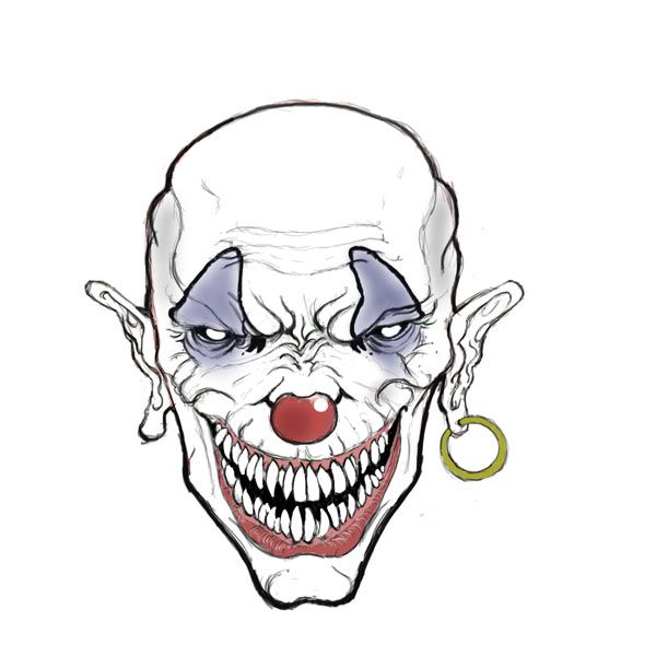 The latest scary tutorial from the Drawing Factory to realise evil clown drawings. This is very scary and not for the faint of heart, just after the click.