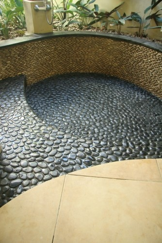 105 Best Outdoor Tile Pebble And Stone Tile Ideas Images