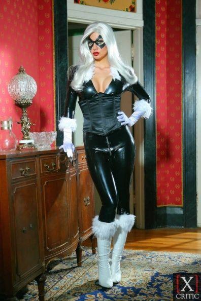 jazy berlin as black cat adult stars 1 pinterest. Black Bedroom Furniture Sets. Home Design Ideas