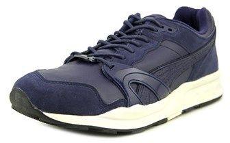 Puma Xt1 Citi Series Men Round Toe Leather Blue Running Shoe.