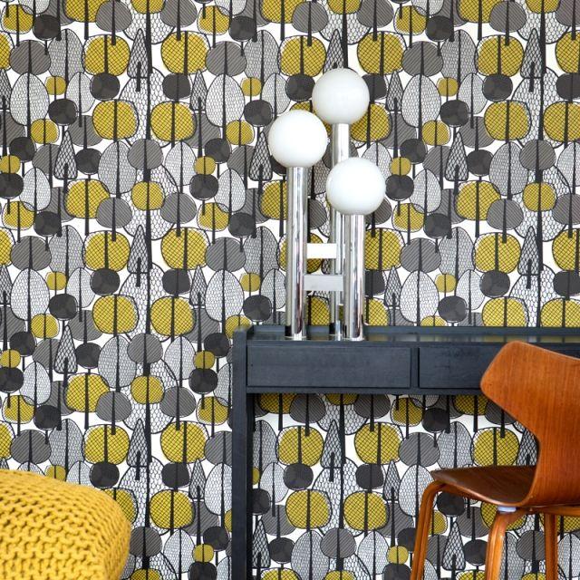 Wandtapeten Jugendzimmer : Papier Peint Ferm Living