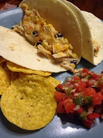 Squeaks and Cheeks: Easy Mexican Crockpot meal!