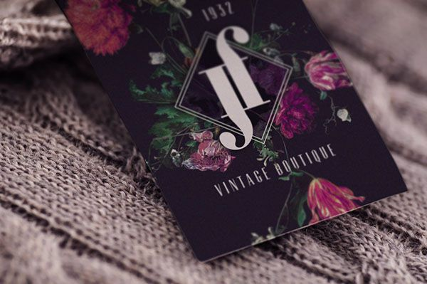 Brand identity for vintage Boutique