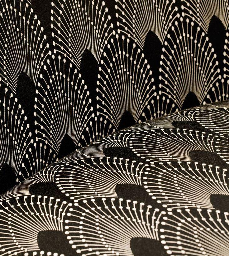 """Rivioli""/Moderne, Mokum Textiles, designer: Stephanie Moffitt http://talkcontract.contractdesign.com/2010/02/moderne-materials.html"
