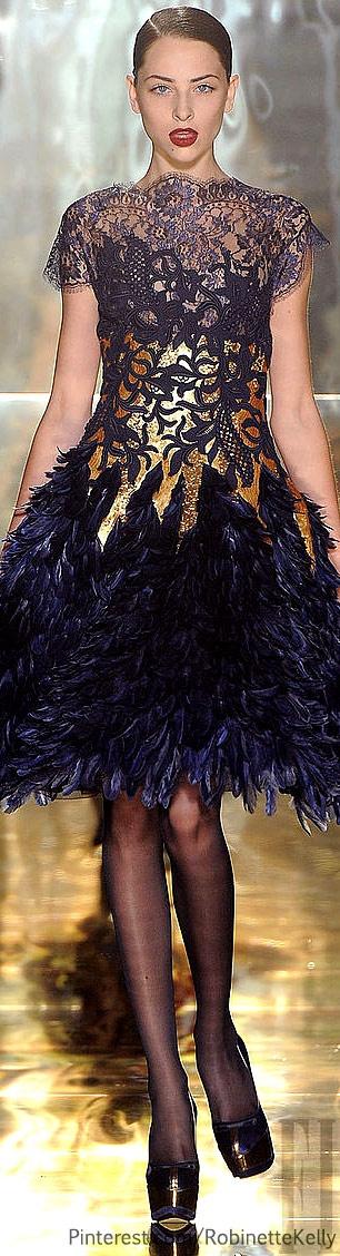 Gave me oh so much LIFEEEEEEEEEEEEEEE.  Georges Chakras Haute Couture | F/W 2012