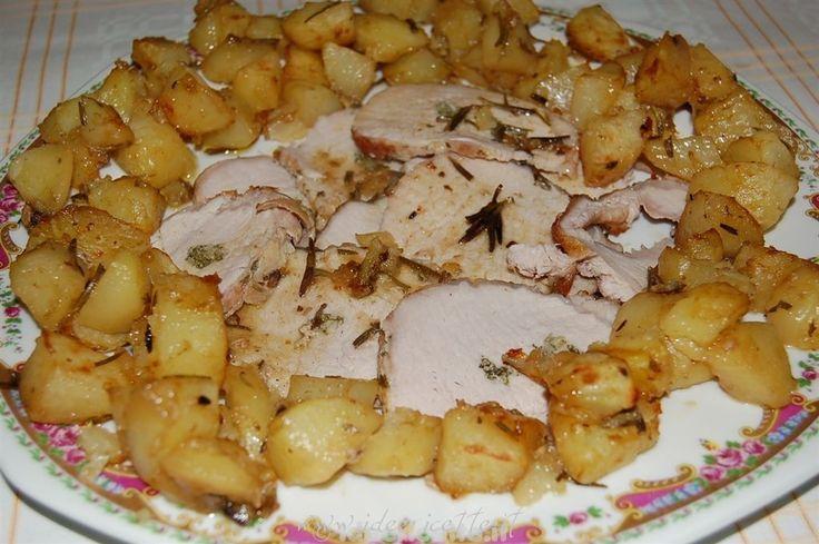 Ricetta Arista di maiale al forno con patate