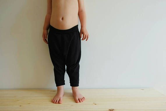Check out this item in my Etsy shop https://www.etsy.com/uk/listing/294908281/organic-jersey-harem-pants-black-baby