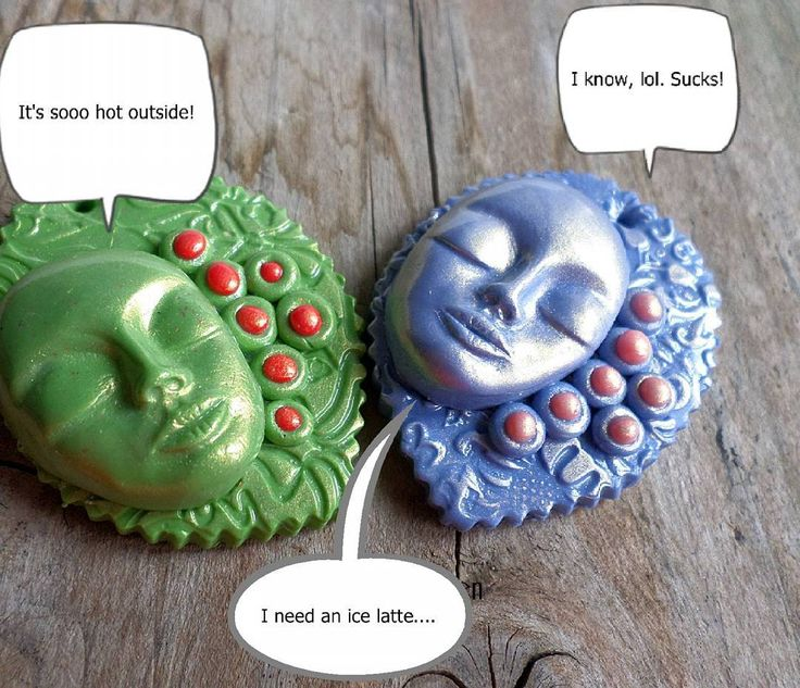 Don't get me wrong summer is great! . . . . #clay #claycabochons #claypendant #sculptedface #face #facesculpture #facenecklace #bubbletalk #heat #hotweather #sunday #zbesties