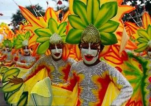 Masskara Festival at Bacolod City, Negros Occidental, Philippines