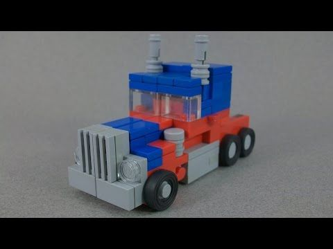 ▶ (INSTRUCTIONS) - Lego Transformers Movie Optimus Prime - YouTube