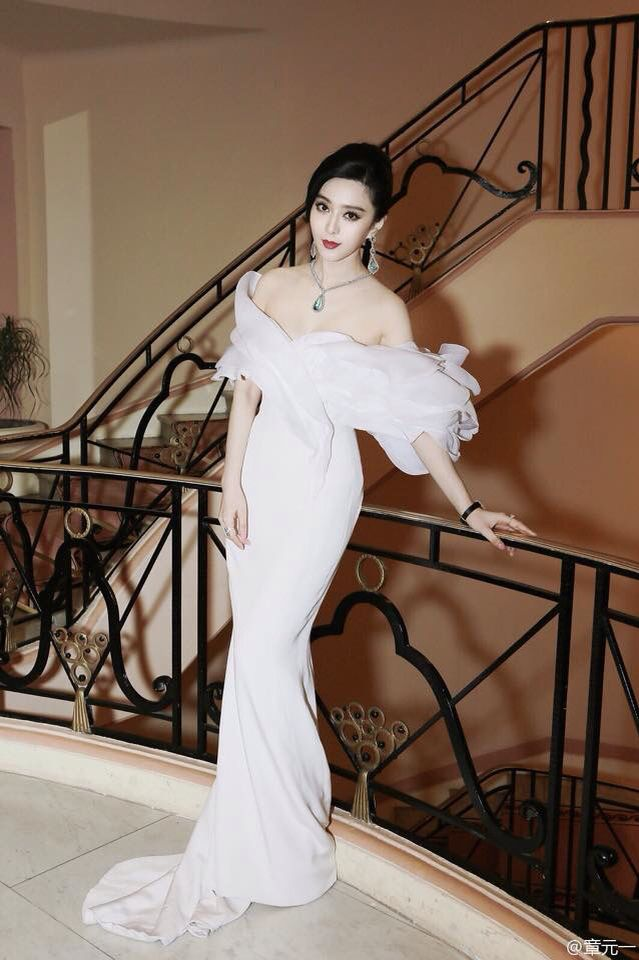 Trophée Chopard Cannes 2015 - Fan Bingbing in Ralph & Russo Couture