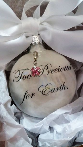 Pregnancy Loss Memorial Too Precious for by ShopCreativeCanvas