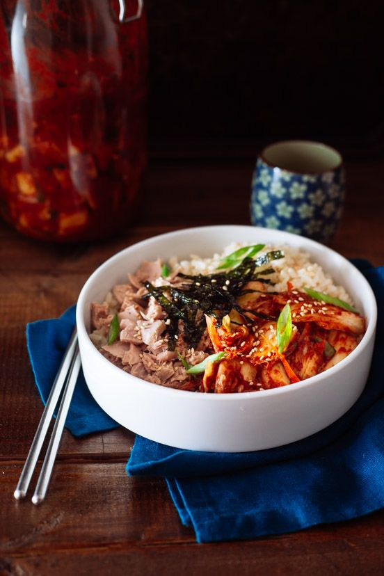 303 best korean food rice images on pinterest korean food recipes kimchi tuna rice kimchi tuna rice quick and easy meal for hot summer days forumfinder Image collections