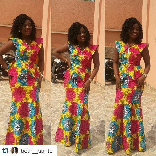 Top Ten Stylish And Unique Ankara Styles You Need To Rock - Dabonke