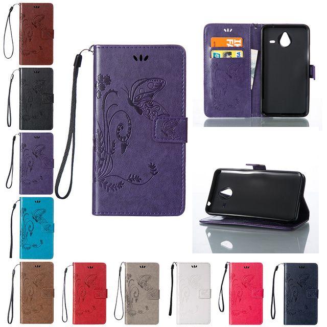 Флип Чехол для Microsoft Nokia Lumia 640XL/640 XL/Lumia640XL LTE Двойной Кожаный Чехол RM-1064 RM-1065 Крышка Телефона для Nokia RM