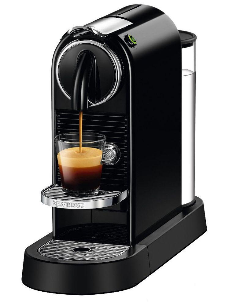 Nespresso Citiz Svört Espresso machine reviews, Espresso