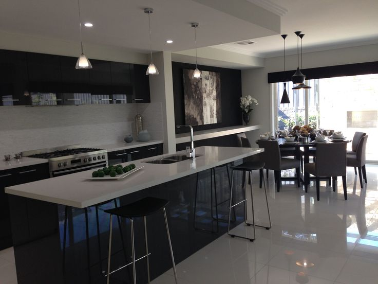 similar layout, kitchen and dinning