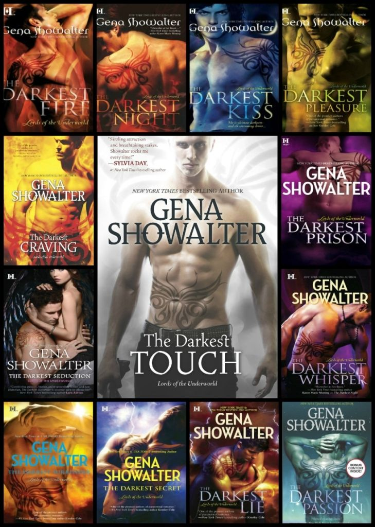 Lords of the Underworld by @genashowalter  (Re-)Read-a-thon | MsRomanticReads