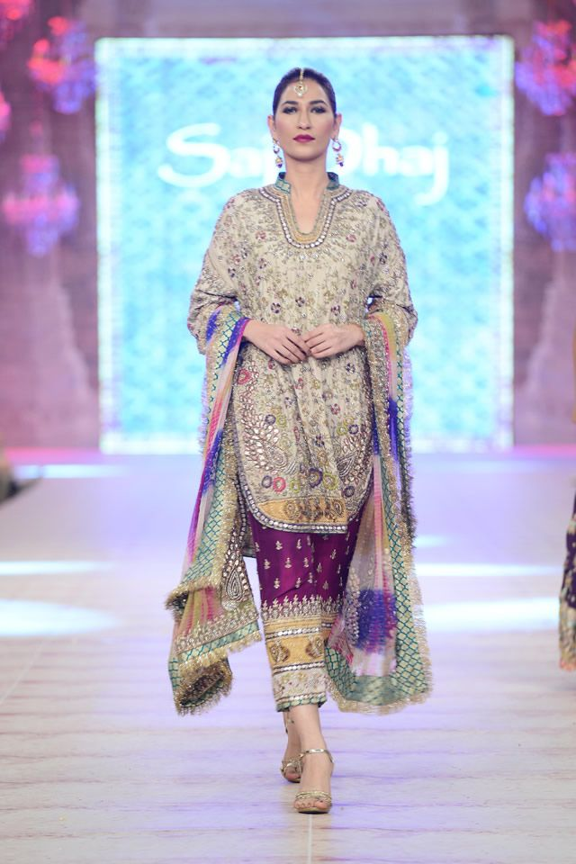 Karma Red Bridal Collection At PFDC Lu0027Oréal 2014